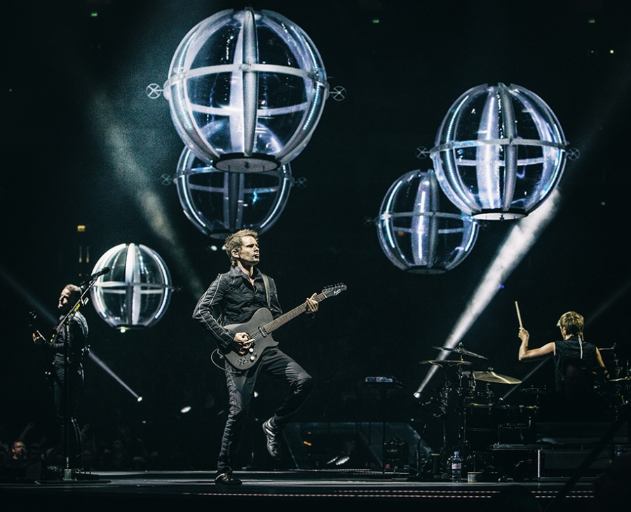 Muse O2 Arena :: London, UK :: 3 April 2016 Photo credit: Hans-Peter van Velthoven