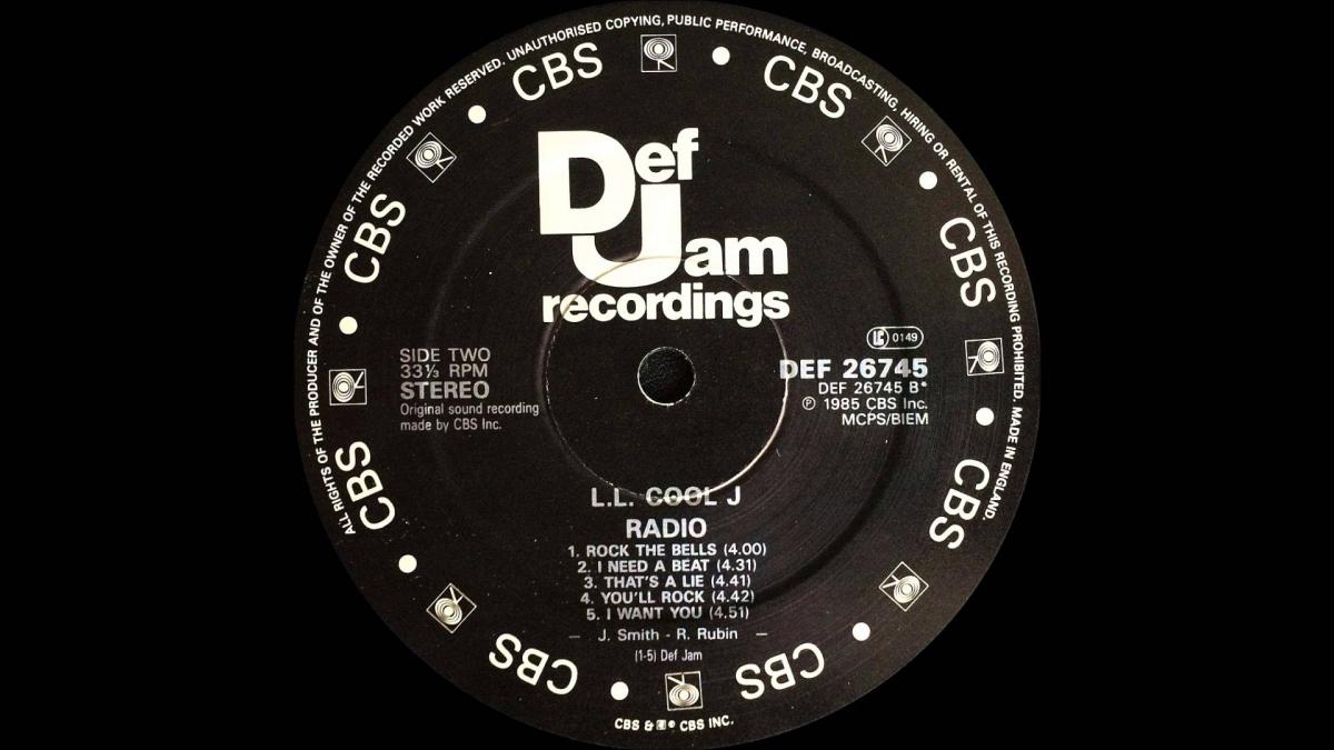 Рик Рубин: Моя жизнь в 21-ой песне. LL Cool J — I Need a Beat. 1985