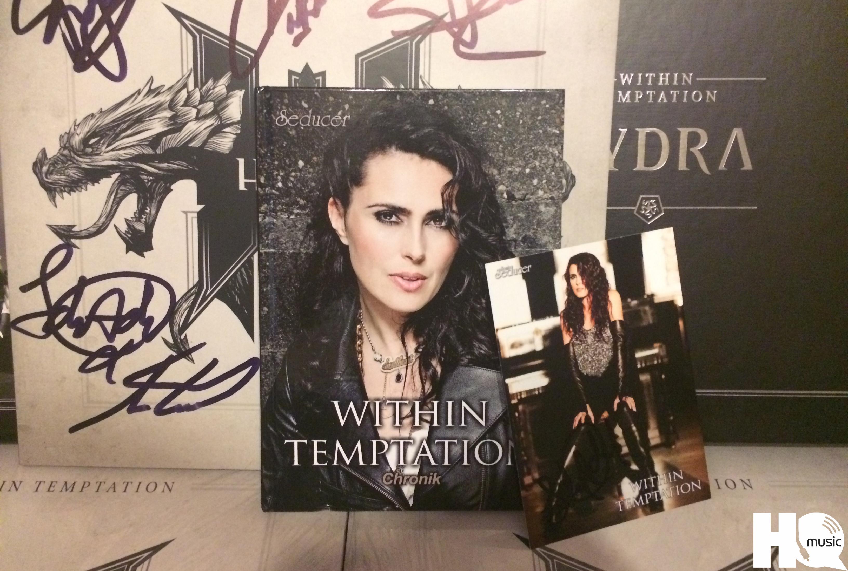 Sonic Seducer выпустил коллекционную книгу Within Temptation Chronik о группе Within Temptation