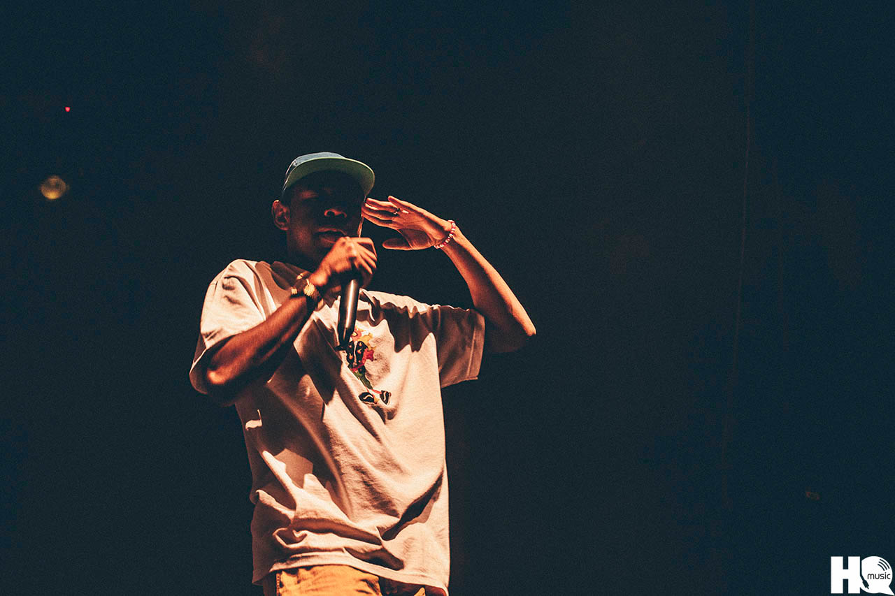 Tyler, The Creator вернулся в Россию! 30 июня 2016 года он выступил в Московском клубе Yotaspace. Фотограф: Yulia Cosmos / Эксклюзивно для MusicHQ.ru