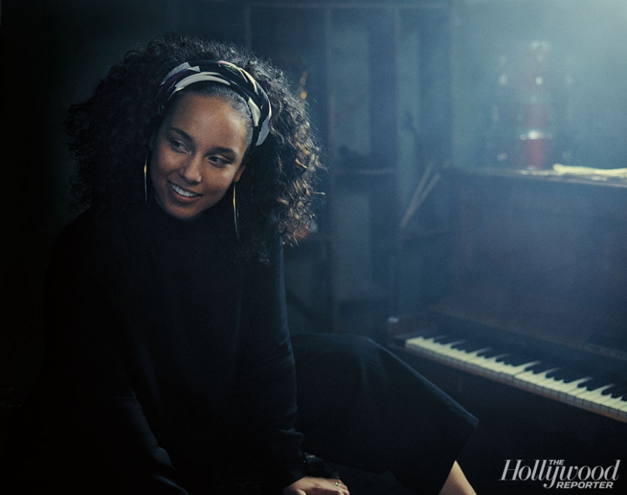 Alicia Keys. Photographed by Miller Mobley