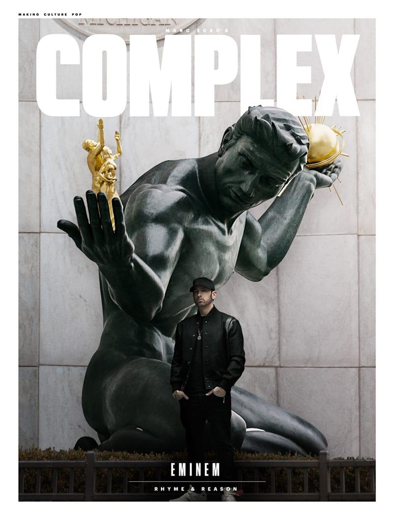 Эминем, Complex, декабрь 2017