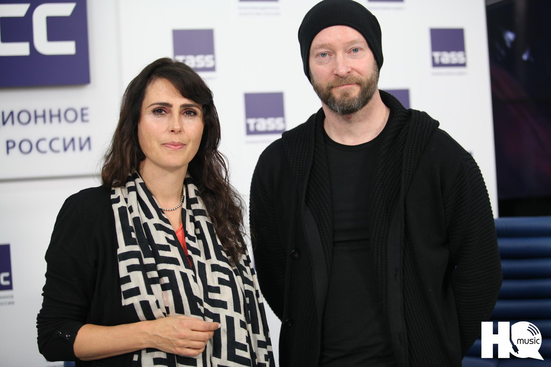 """Редакция MusicHQ на пресс-конференции нового альбома """"Resist"""" группы Within Temptation в ТАСС (Москва, 18 октября)"""