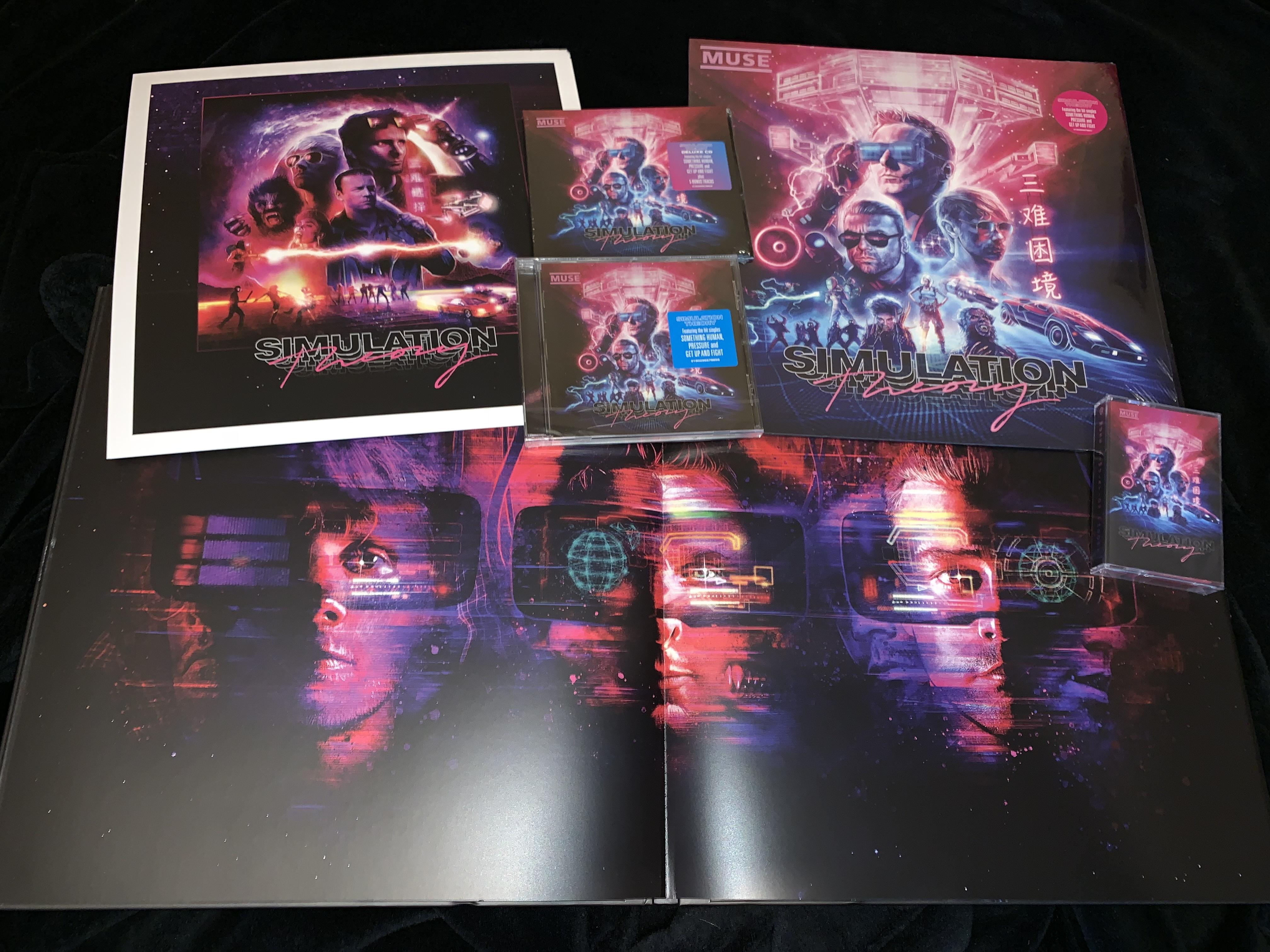 """Обзор коллекционного боксового издания Muse """"Simulation Theory Super Deluxe CD/ Vinyl Boxset"""""""