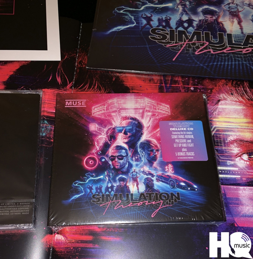 SIMULATION THEORY DELUXE CD Muse