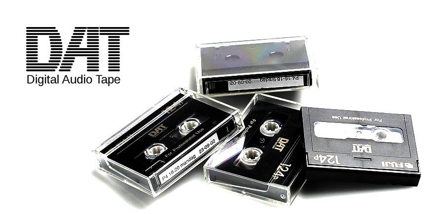 DAT (цифровые аудиокассеты)