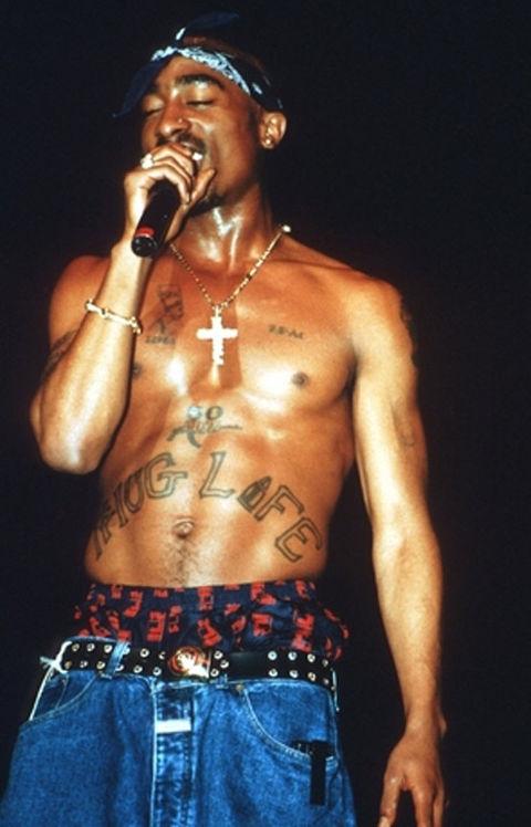 Tupac Shakur, умер на 25 году жизни
