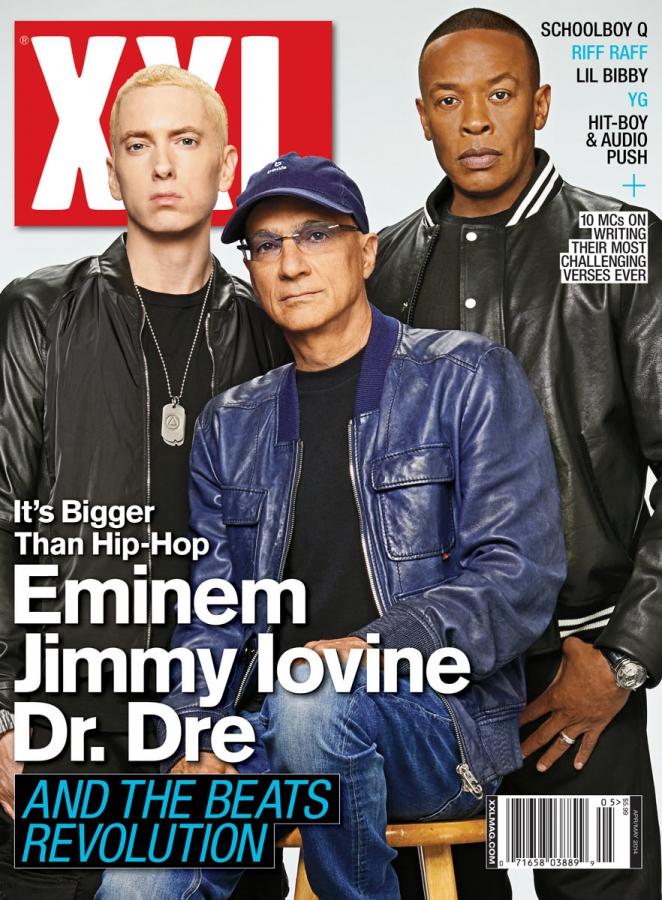 Eminem Dr. Dre Джимми Айовин XXL 2014