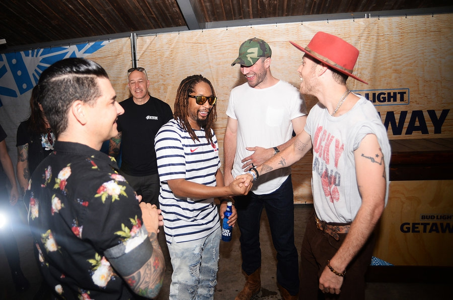 Chris_Carrabba_Lil_Jon_Sam_Hunt_Harry_Hudson_bud_light_getaway_июль_2018