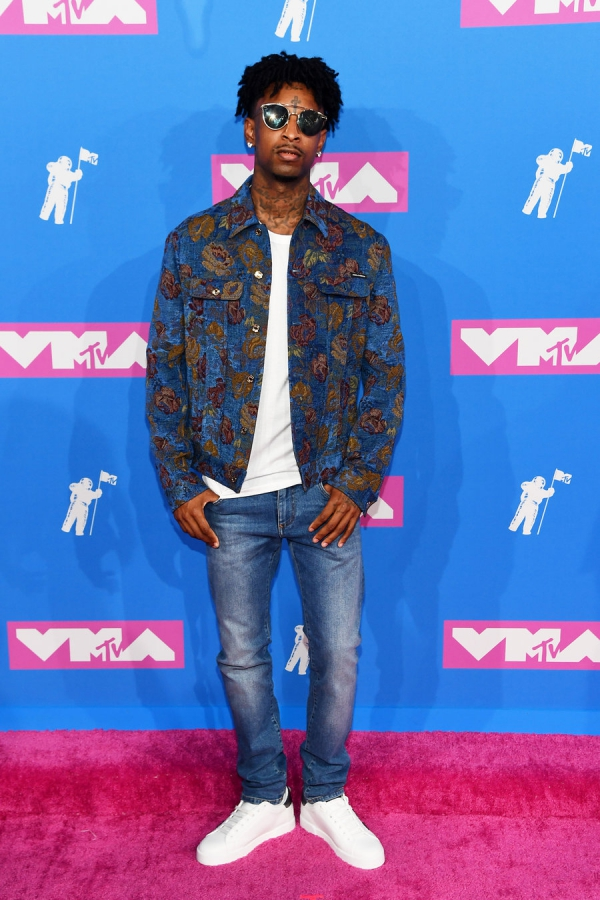 21-savage-mtv-vmas-arrivals-август-2018