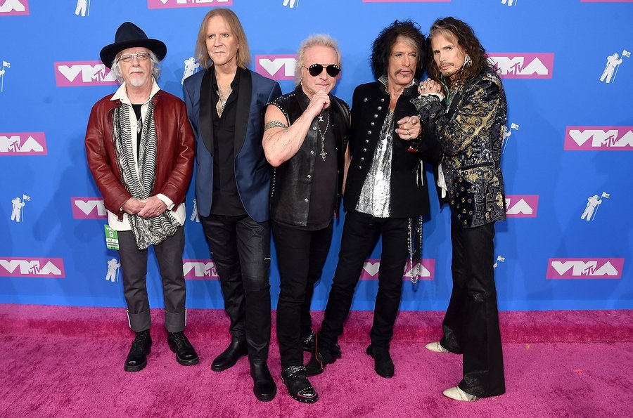aerosmith-mtv-vmas-arrivals-август-2018