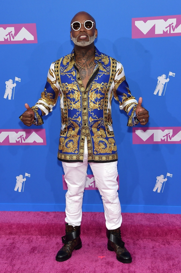 willy-william-mtv-vmas-arrivals-август-2018