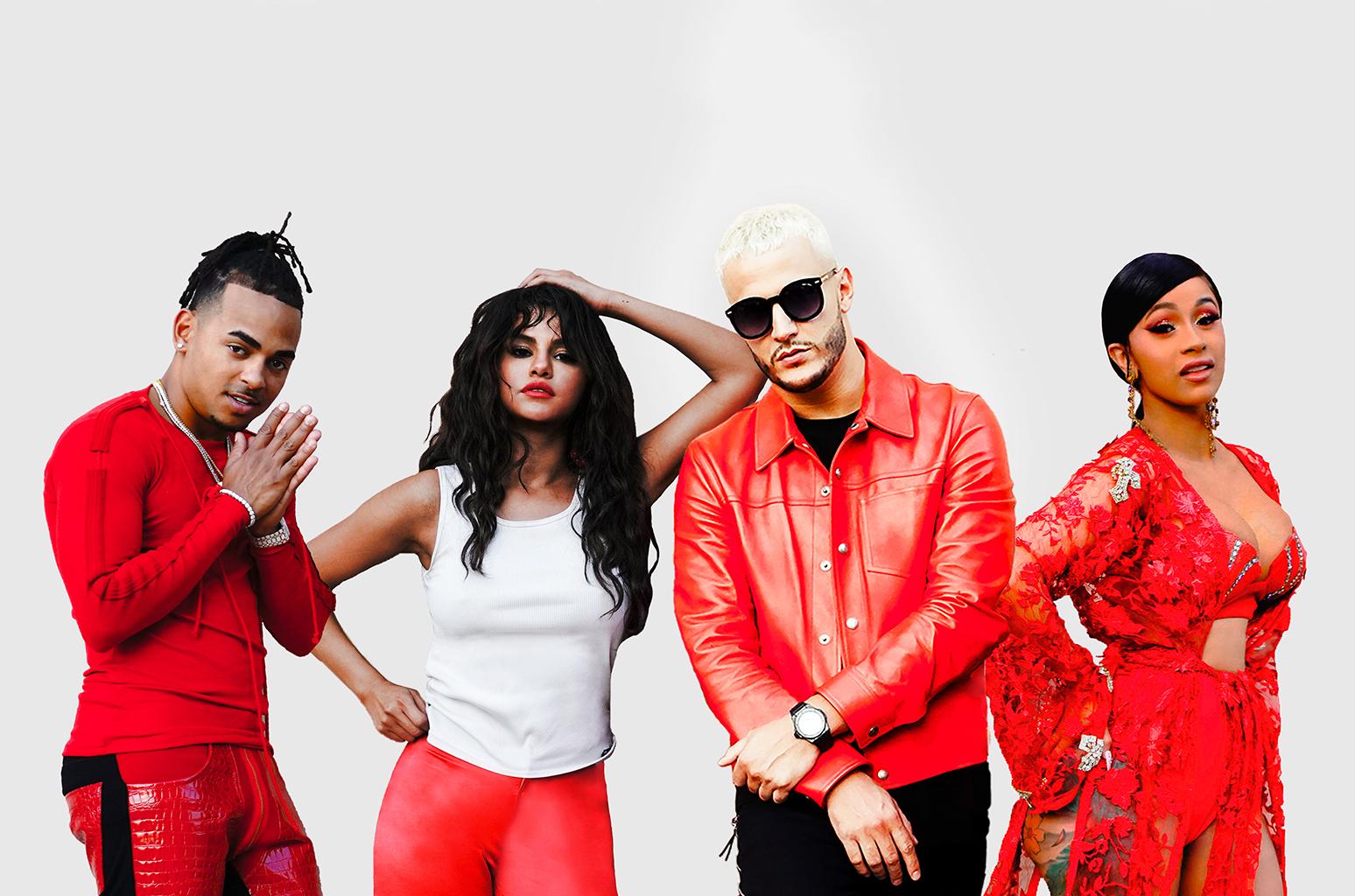 DJ-Snake-Ozuna-Cardi-B-Selena-Gomez-сентябрь_2018