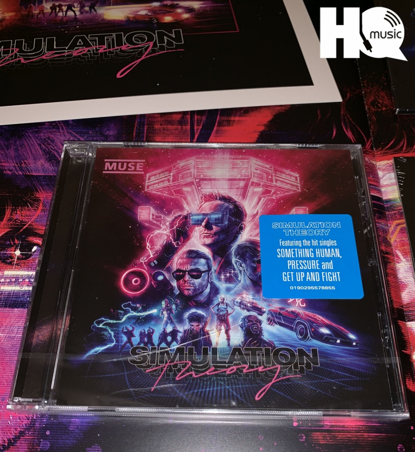 SIMULATION THEORY STANDARD CD Muse